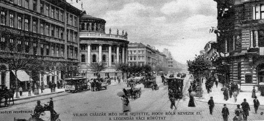 1800-as évek vége, Váci körút (Bajcsy-Zsilinszky út), 5. és 6. kerület