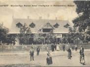 1900-as évek eleje, Hűvösvölgyi út, a Balázs vendéglő. 2. kerület