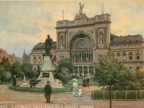 1800-as évek vége, Baross tér, 8.kerület