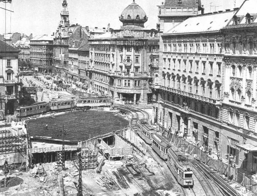 1966, Blaha Lujza tér, 8. kerület