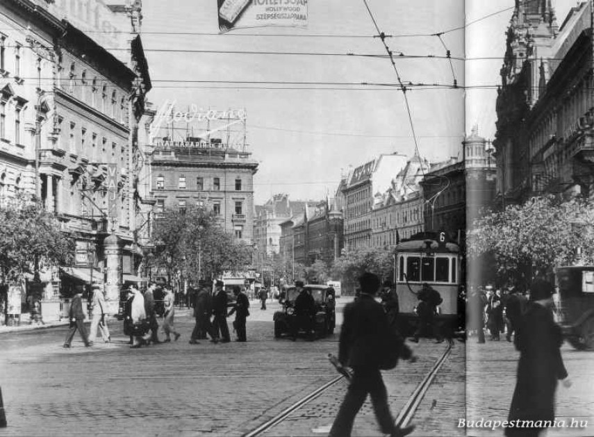 1930-as évek, Erzsébet körút, 7. kerület