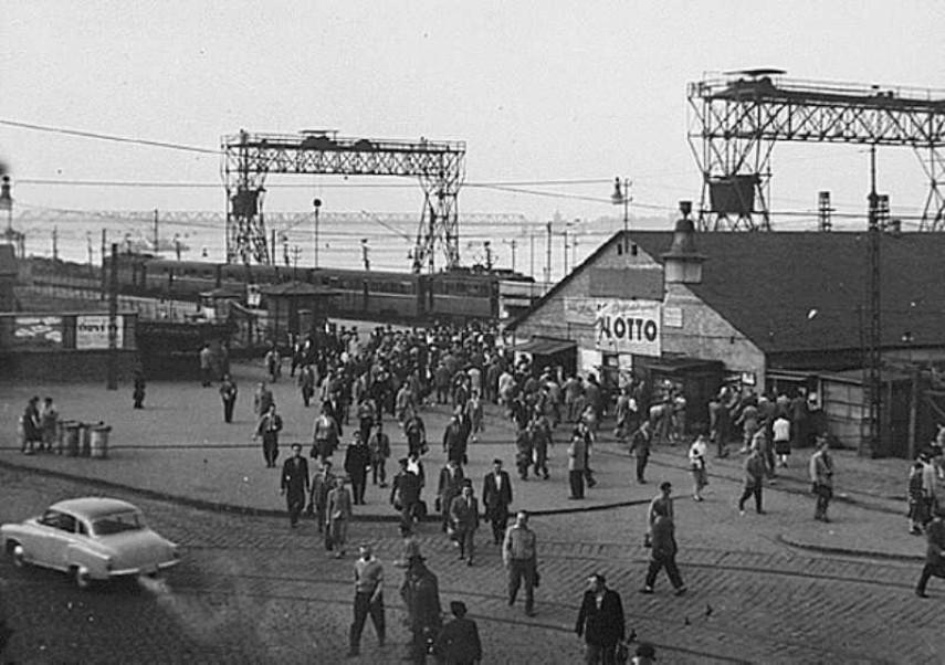 1958, Boráros tér, 9. kerület