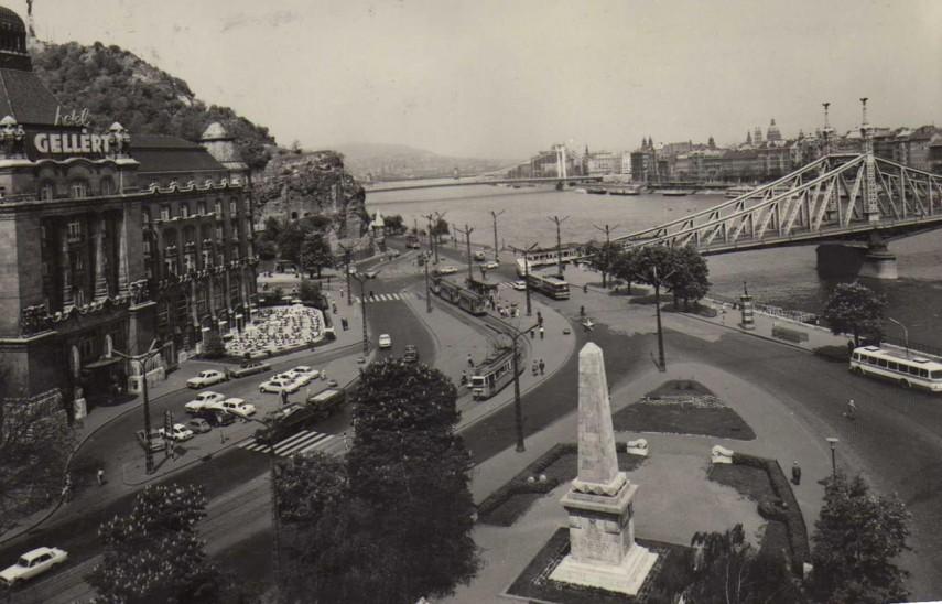 1969 táján, Szent Gellért tér, 11. kerület