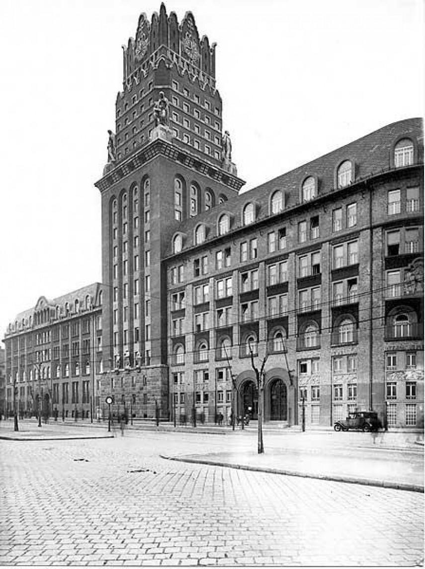 1940-es évek, Fiumei út, 8. kerület