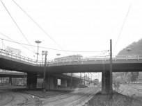 1971-1972, Erzsébet híd, budai hídfő, 1. kerület
