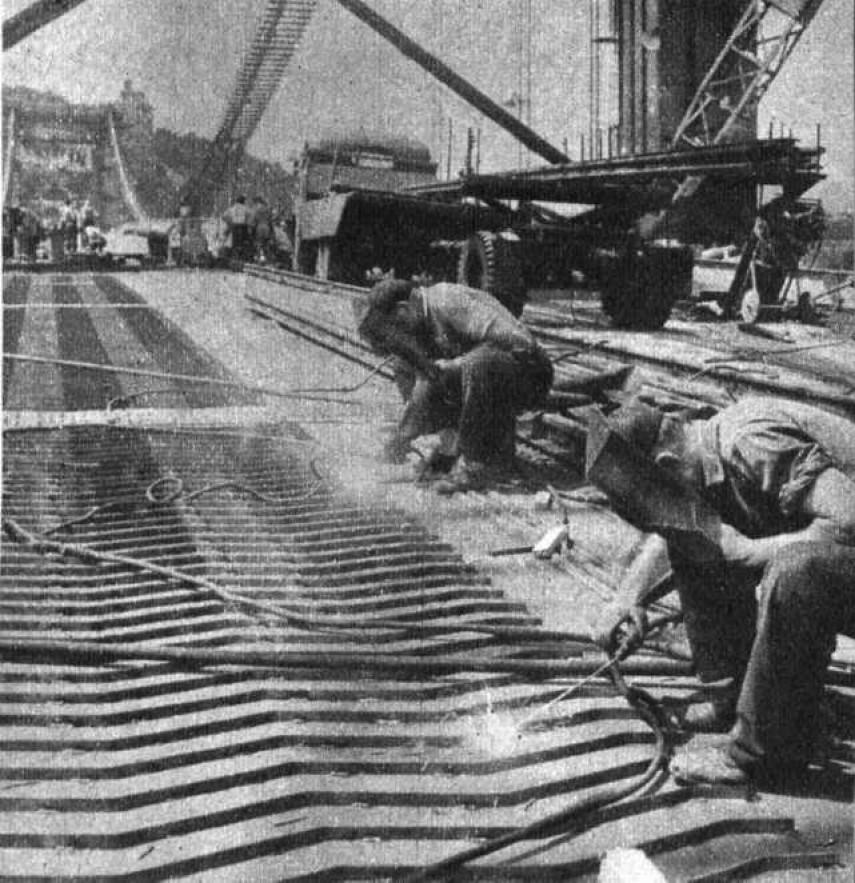 1963, az Erzsébet híd, 5. kerület