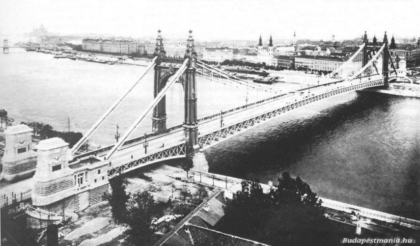 1903, Régi Erzsébet híd, 1. kerület