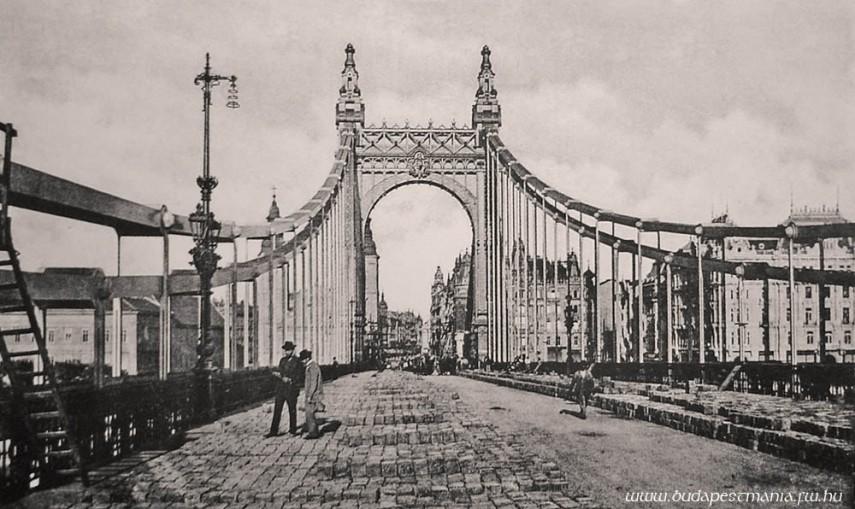 1903, Régi Erzsébet híd, 5. kerület