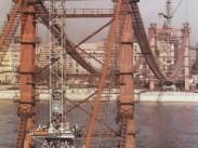 1963, az Erzsébet híd építése, 1. kerület