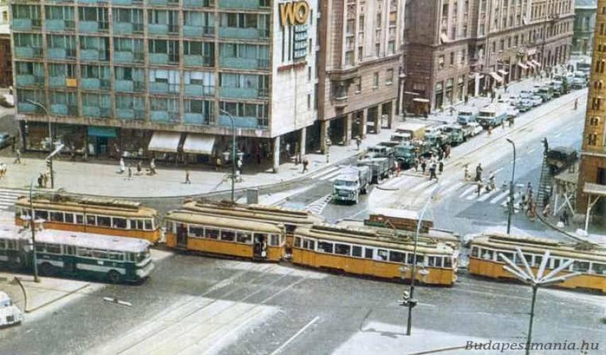 1970 táján, Üllői út a Nagykörútnál, 8. kerület