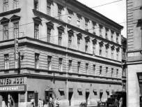 1961, Rákóczi út a Huszár utcánál, 7. kerület