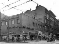 1957, Calvin (Kálvin ) tér az Üllői útnál, 8. kerület