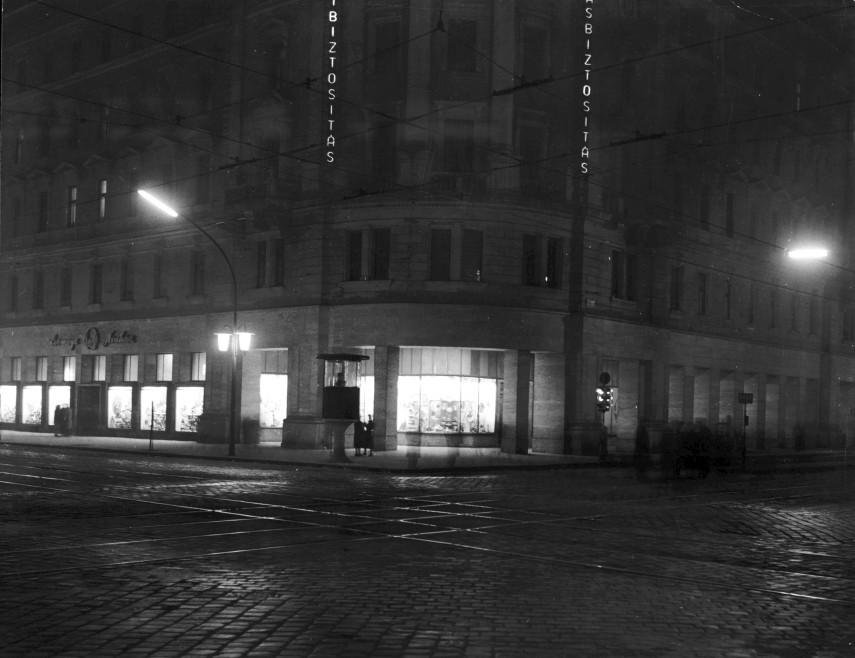 1960, Rákóczi út a Nagykörútnál, 7. kerület
