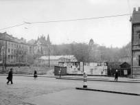 1961, Frankel Leó út 74. és 76. számú telkek, balra a Kavics utca