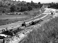 1963, az épülő M7 autópálya közös szakasza, 11. kerület