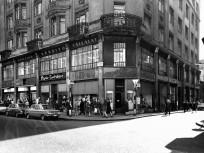 1971, Petőfi Sándor utca a Régi posta utcánál, 5. kerület
