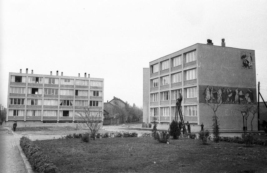 1958, Papp József (Szent László) tér, Újpest
