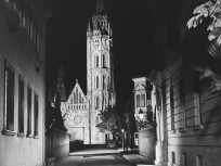 1960, a Szentháromság utca a Tóth Árpád sétány felől, 1. kerület