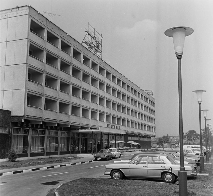 1974, Ferde utca 1., a Hotel Aero, 9. kerület