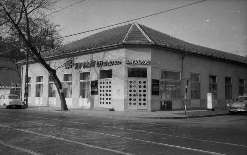 1966, Erzsébet királyné útja az Öv utcánál, 14. kerület