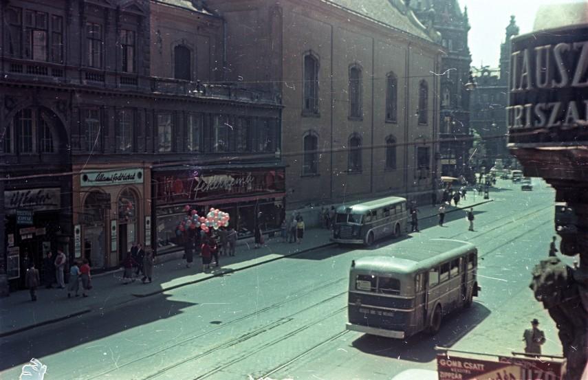 1955, Kossuth Lajos utca, 5. kerület