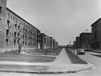 1960, Bánki Donát utca a Róna utca felől, 14. kerület