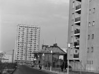 1969, Kacsóh Pongrác út a Nagy Lajos király útja felé nézve, 14. kerület