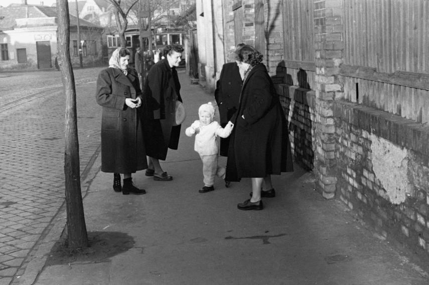 1951, Újpest, Bajcsy-Zsilinszky (István) utca, 4. kerület