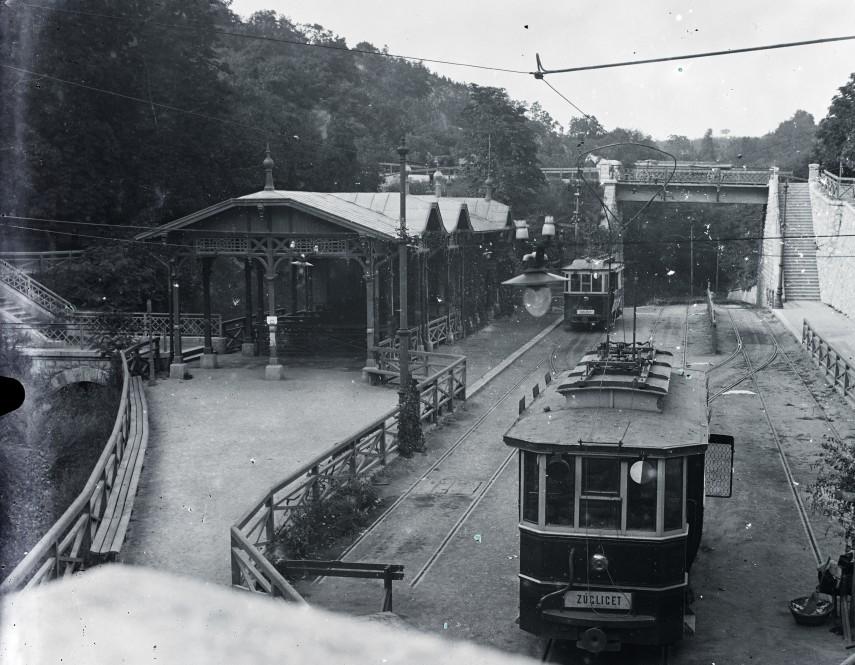 1909, Zugligeti út, villamos végállomás, 12. kerület