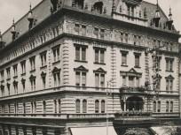 1930, Rákóczi út, a HOTEL METROPOLE (Metropol szálló), 7. kerület