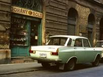 1985, Thaly Kálmán utca a Tűzoltó utcánál, 9. kerület
