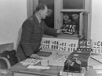 1945-1949, rendszámkiadás