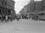1951, Blaha Lujza tér és Rákóczi út, 8. és 7. kerület