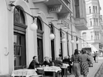 1952, Lipthay utca, a Mártírok útja ( Margit körút) felé nézve, 2. kerület