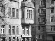 1965, Szilágyi Erzsébet fasor a Káplár utcánál, 2. kerület