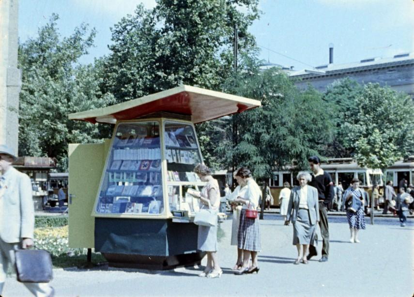 1959, Kecskeméti utca a Múzeum körút torkolatánál, 5. kerület