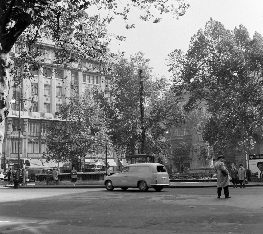 1960, Vörösmarty tér, 5. kerület