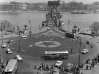 1960, Clark Ádám tér, 1. kerület