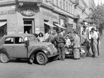 1953, Teréz (Lenin) körút a Majakovszkij (Király) utcánál, 6. kerület