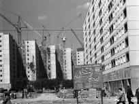 1970, Szentendrei út a Flórián térnél, 3. kerület