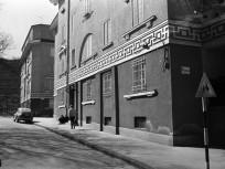 1976, Nagyszombat utca a Végvár utca felé nézve, 3. kerület