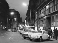 1973, Váci utca a Kígyó utca felé nézve, 5. kerület