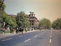 1979, Kodály körönd a Hősök tere felé nézve, 6. kerület