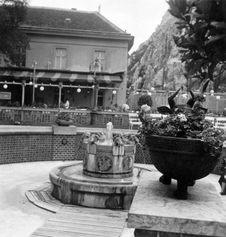 1939, Döbrentei tér, Erzsébet híd  budai hídfő, 1. kerület