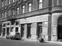 1964, Szamuely (Lónyay) utca a Czuczor utcánál, 9. kerület