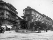 1900 táján, Calvin (Kálvin) tér, 8. kerület