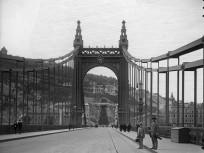 1907, a régi Erzsébet híd, 1. kerület