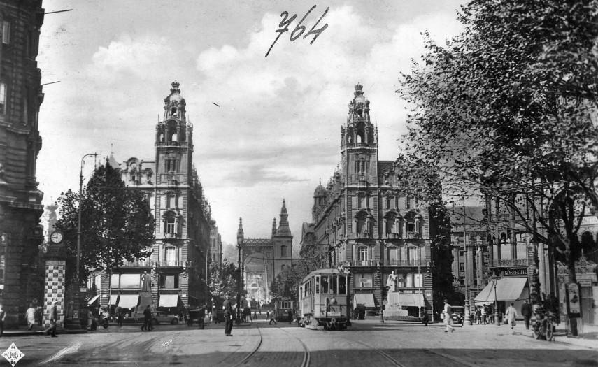 1929, Apponyi tér (Ferenciek tere), 4., (1950-től) 5. kerület