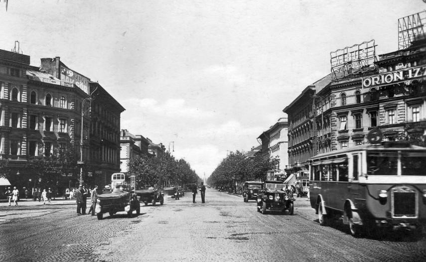 1929, Oktogon, 6. kerület