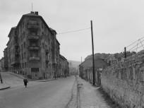 1957, Várfok utca a Mátray utcánál, 1. kerület